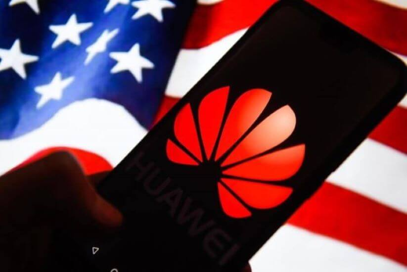 sanctions against Huawei