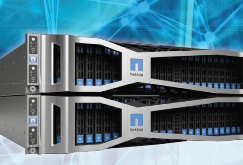NetApp shares tumble