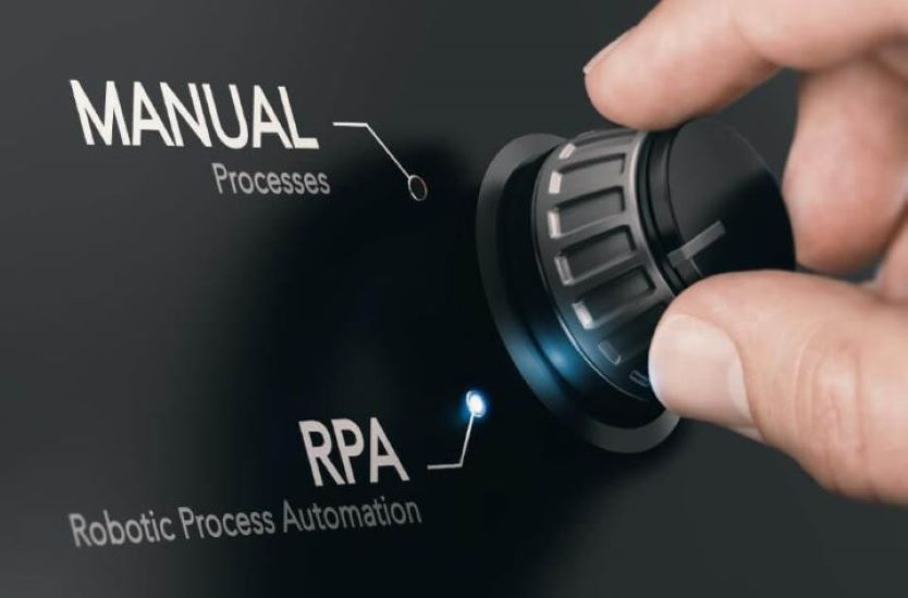 how businesses use RPA