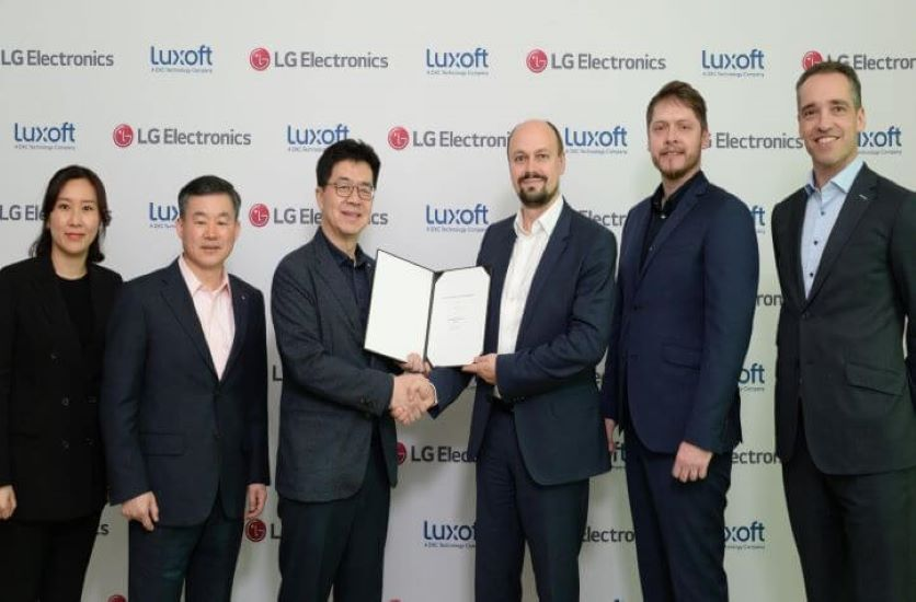 Luxoft and LG Join Forces to Drive the Automotive Experience