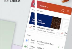 Microsoft Unified Office Application Provides A Glimpse Into Mobile Future
