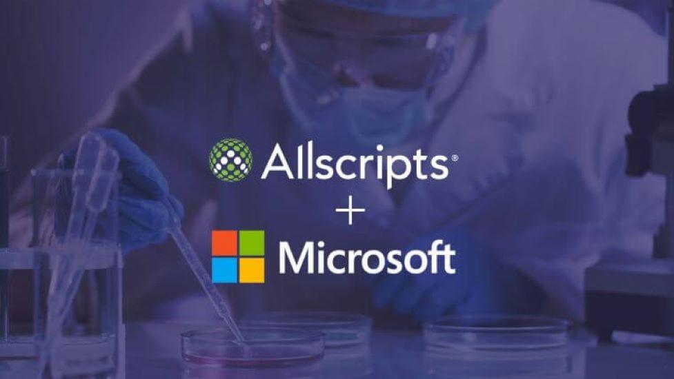 Allscripts and Microsoft Extend Cloud-based Health IT Partnership