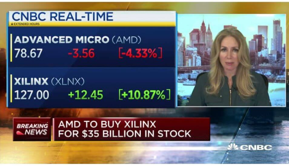 AMD Double Splash: Announcing Xilinx Deal and Posting Big Q3 Earnings