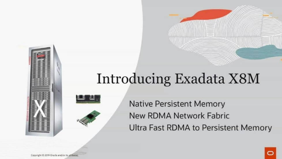 Oracle Announces Next Generation Exadata X8M Cloud Service